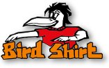 Bird Shirt Stickerei & Druck - Logo