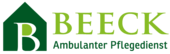 Logo Beeck - Ambulanter Pflegedienst